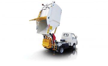 IRIDE SAT 350 SAR - Sistemi a vasca ribaltabile satellite